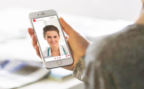 Wideorozmowa z lekarzem przez telefon